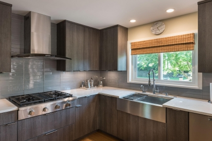 Kitchen Cabinets, Contemporary, Apron Sink