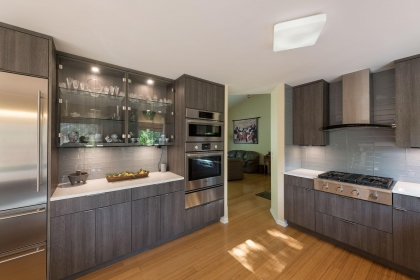 Kitchen Cabinets, Contemporary, Averall View