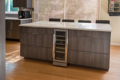 Kitchen Cabinets, Contemporary, Island