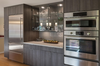 Kitchen Cabinets, Contemporary, Oven View