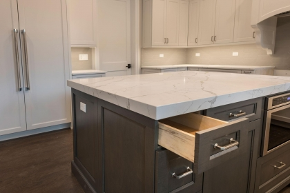 Kitchen Cabinets, Shaker Plus, Island Drawer