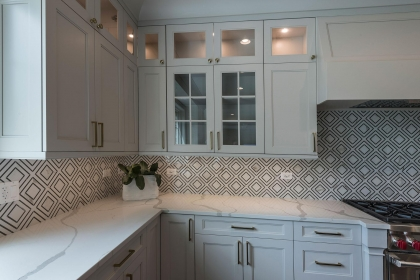 Kitchen Cabinets, White Shaker Plus, Wall Cabinets