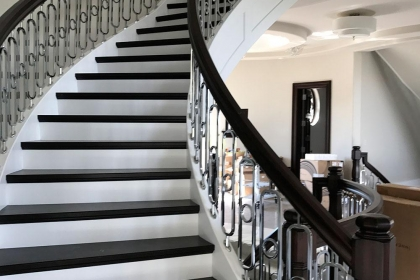 Spiral Stairs Custom Woodwork