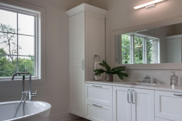 Bathroom Cabinets, White Shaker Plus