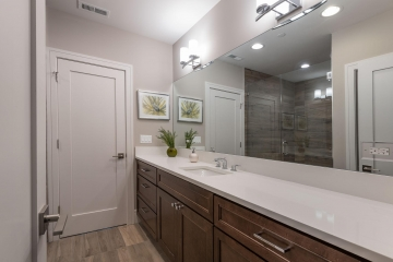 Bathroom Vanity, Staint Grade, Shaker Plus