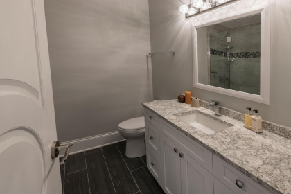 Bathroom Vanity, White Shaker Plus